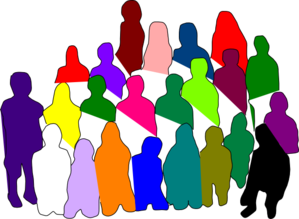 Diverse Group Clip Art