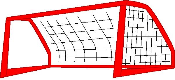 red soccer goal net clip art at clker com vector clip art online rh clker com  soccer goalkeeper images clip art