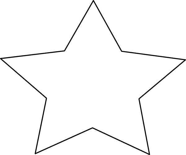 Star Outline Clip Art