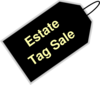 Estate Tag Sale Clip Art
