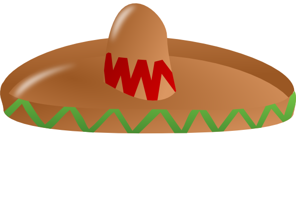 Sombrero Clip Art at Clker.com - vector clip art online, royalty free ...