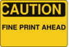 Caution Sign Clip Art