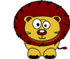 Lion Eyes Clip Art
