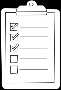 check list outline clip art at clker com vector clip art online rh clker com clipart checklist to do list clipart