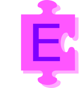 letter e inside puzzle piece clip art at clker com vector clip art rh clker com clipart e commerce clipart e commerce