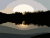 Blurred Sun Photo Clip Art