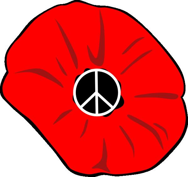 Peace Poppy Clip Art at Clker.com - vector clip art online, royalty ...