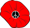 Peace Poppy Clip Art