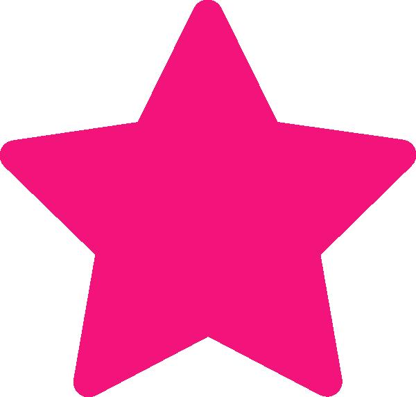 pink star clip art at clker com vector clip art online royalty rh clker com Pink Star Border Clip Art hot pink star clip art