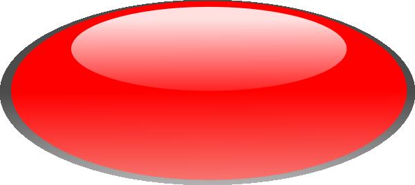 b67406979887d Red Oval Button Clip Art at Clker.com - vector clip art online ...