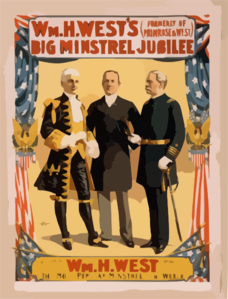 Wm. H. West S Big Minstrel Jubilee (formerly Of Primrose & West). Clip Art