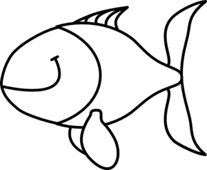 fish black and white clip art at clker com vector clip art online rh clker com black and white fish bowl clip art black and white fish clip art vector