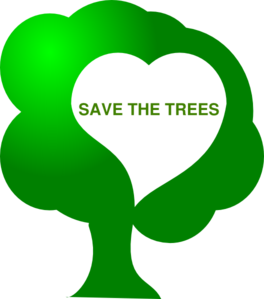 Save The Tress Clip Art