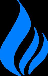 Blue Flame Clip Art at Clker.com - vector clip art online ...  Blue Flames Clip Art