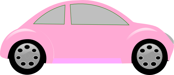 Light Pink Car Clip Art At Clker Com Vector Clip Art