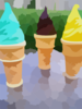 Ice Cream Cones Clip Art