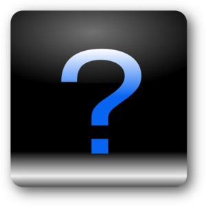 Square Question Clip Art