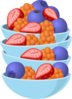 Berry Bowl Clip Art