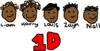 One Direction Clip Art