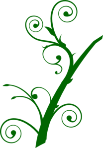 Curly Leaves Clip Art