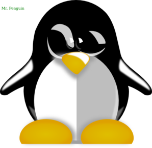 Mr. Penguin Clip Art