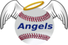 Angel Baseball Clip Art