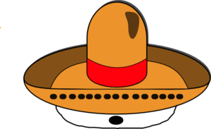 Sombrero On Al-seeing Eye Clip Art