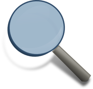 Magnifying Glass - Icon Clip Art