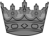 Sliver Crown Clip Art
