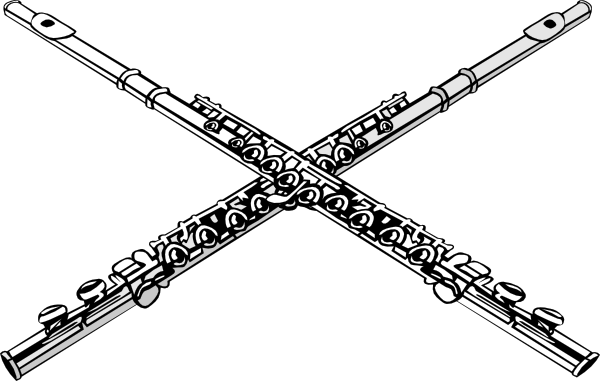 Flutes Clip Art at Clker.com - vector clip art online ...