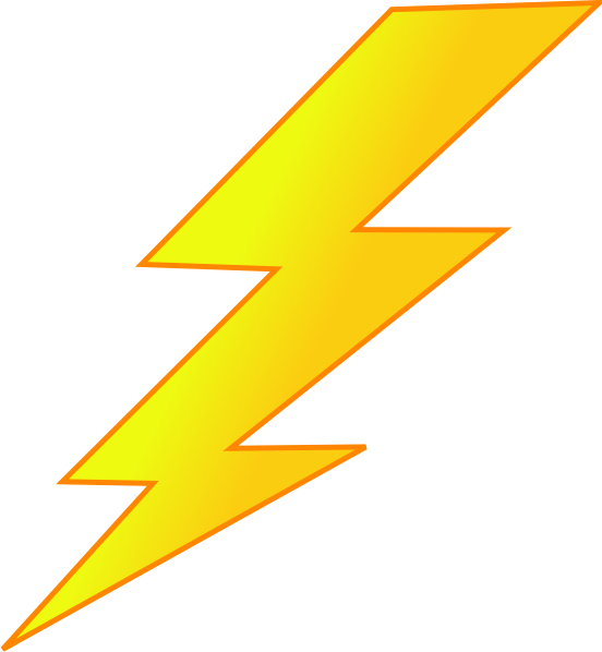 Lightning Bolt Clip Art at Clker.com - vector clip art ...