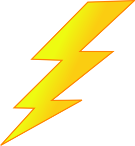 Lightning Bolt Clip Art  sc 1 st  Clker : lighting bolt images - azcodes.com