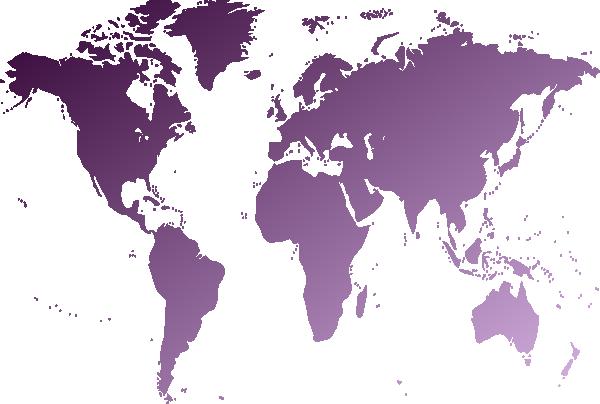 World Map Clip Art at Clker.com - vector clip art online, royalty ...