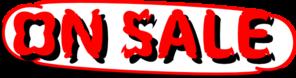 On Sale Clip Art