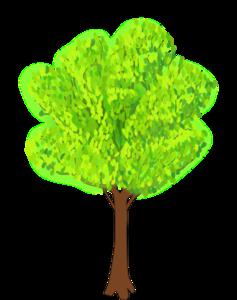 Summer Trees Clipart