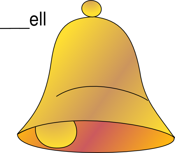 christmas bell clip art at clker com vector clip art online rh clker com bell clipart black and white free belle clip art