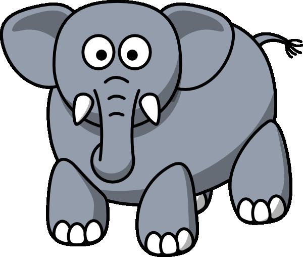 clipart elephant face - photo #9