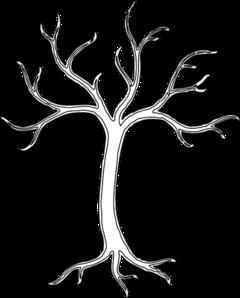 White Dead Tree Clip Art At Clker Com Vector Clip Art Online
