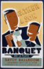Father & Son Banquet Clip Art