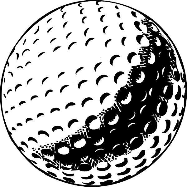 Golf Ball Clip Art at Clker.com - vector clip art online ...