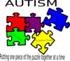 Autism Putting One Piece Of The Puzzle Together At A Time Clip Art