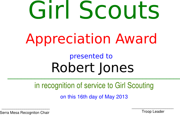 Girl scout clip art at clker vector clip art online royalty download this image as yelopaper Gallery