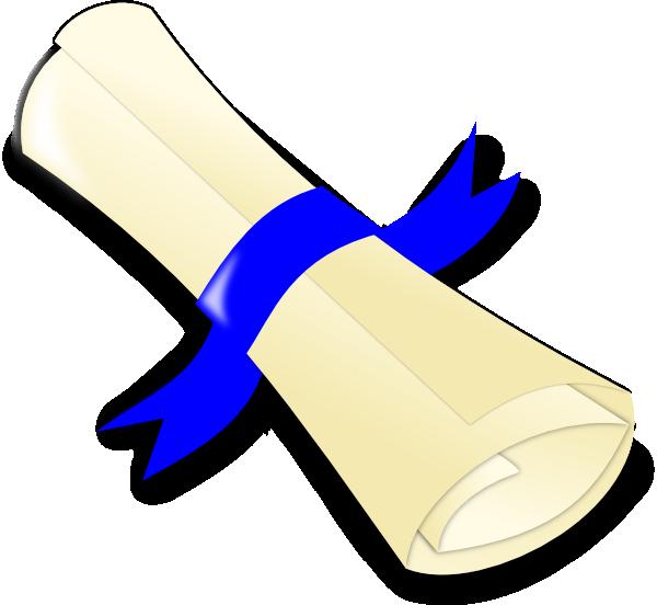 diploma clip art at com vector clip art online royalty   this image as