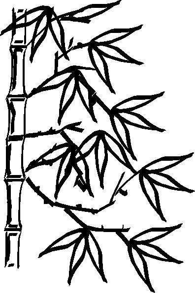 bamboo clip art at clkercom vector clip art online
