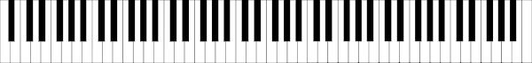 Standard 88 Key Piano Keyboard Clip Art At Clker Com