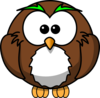 Wise Owl Clip Art