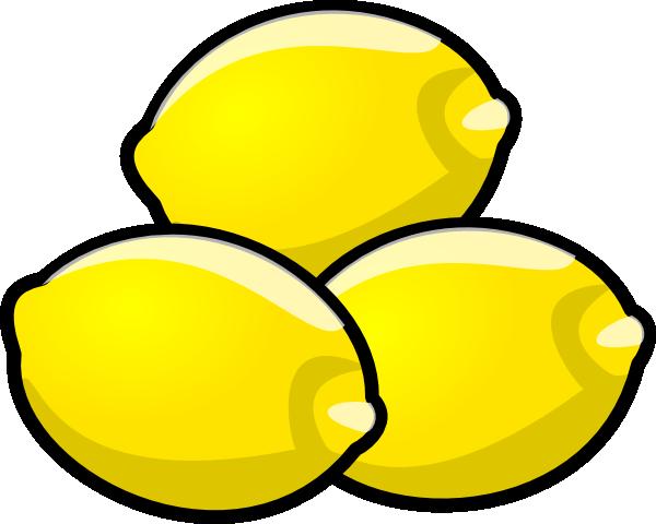Lemons Clip Art at Clker.com - vector clip art online ...