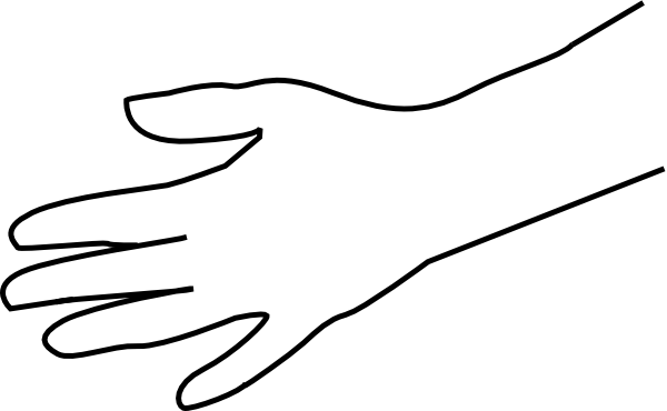 blank hand sign png - photo #34