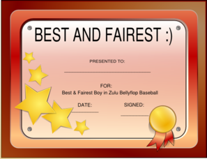 Best And Fairest Clip Art