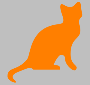 Orange Cat Clip Art
